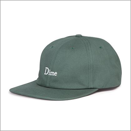 Dime green baseball cap