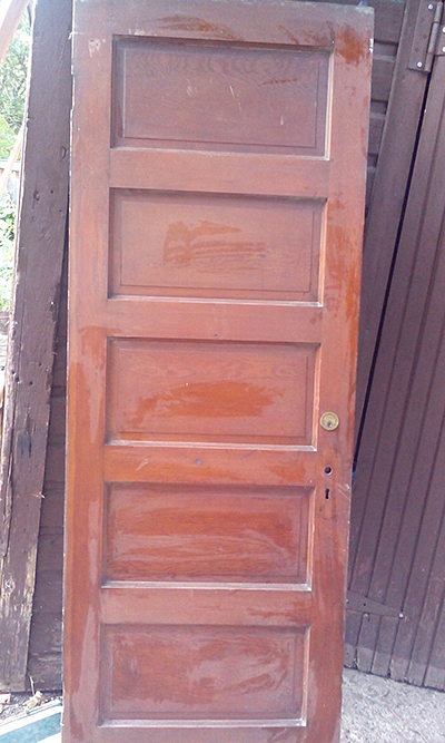 old oak door in Glebe