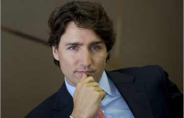 Trudeau thinking