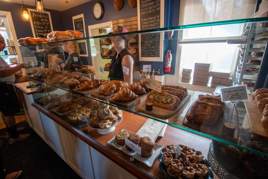 Bakery full of baked goods