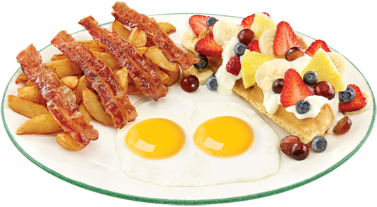 Breakfast everything in it