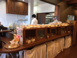 The bakery in the restaurant