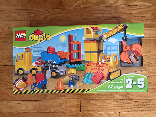 duplo construction site