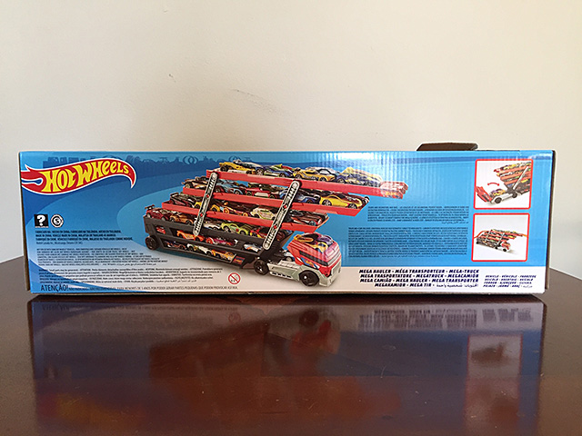 Hot Wheel Toy back