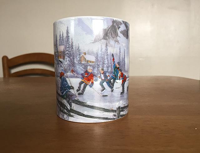 Hockey mug cup