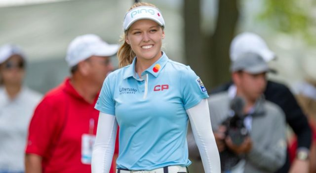 Canadian woman golf player