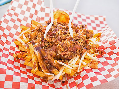 a dish called poutine