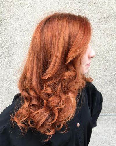 Classic red hair
