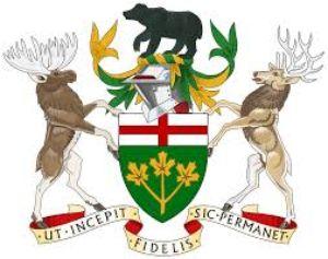 オンタリオ州紋章