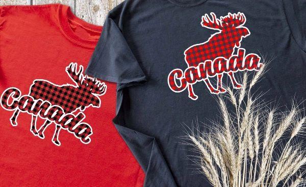 ムースの絵が入ったTシャツ2枚